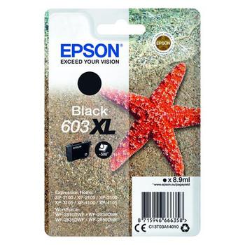 Genuine Epson Starfish 603XL Black Ink Cartridge