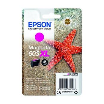 Epson Starfish 603XL Magenta Inkjet Cartridge C13T03A34010