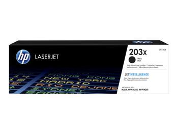 Genuine HP 203X Black Toner Cartridge CF540X