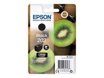 Genuine Epson 202 Black Inkjet Cartridge