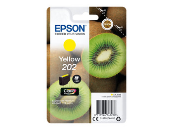 Genuine Epson 202 Yellow Inkjet Cartridge