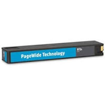 Compatible HP 973X High Yield Cyan PageWide Inkjet Cartridge F6T81AE