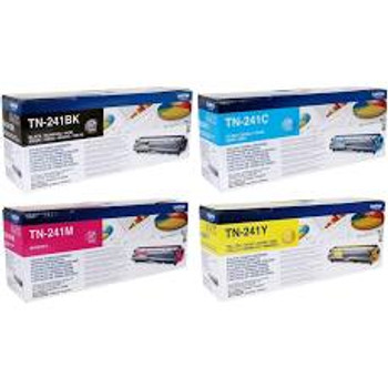 Genuine Brother TN241 BCMY Toner Cartridge Multipack