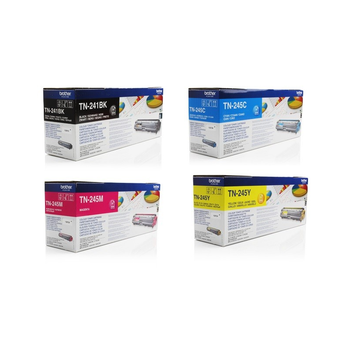 Genuine Brother TN241/TN245 BCMY Toner Multipack