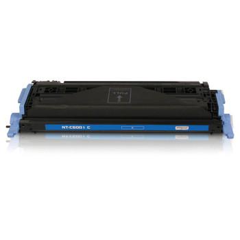 Compatible HP 124A Cyan Toner Cartridge Q6001A