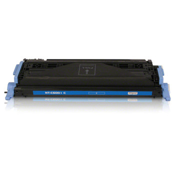 Compatible HP 124A Cyan Toner Cartridge Q6001A