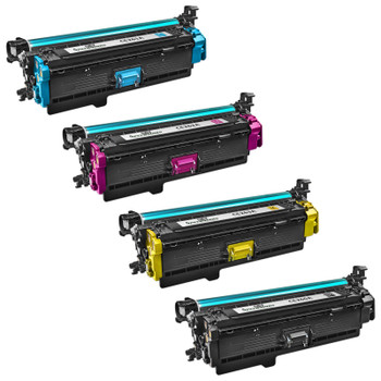 Compatible HP 647A / HP 648A Toner Cartridge Multipack