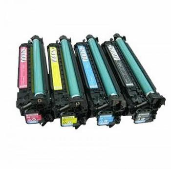 Compatible HP 507A Toner Value Pack (B/C/M/Y)