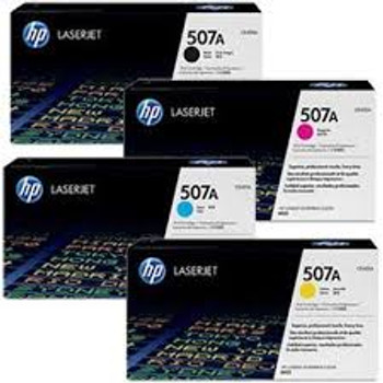 Genuine HP 507A Toner Value Pack BCMY