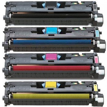 Compatible HP 122A Toner Cartridge Value Pack (BCMY)