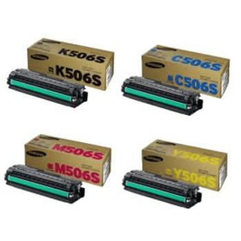 Genuine Samsung 506S Toner Cartridge Multipack (CLT-K506S/C506S/M506S/Y506S)