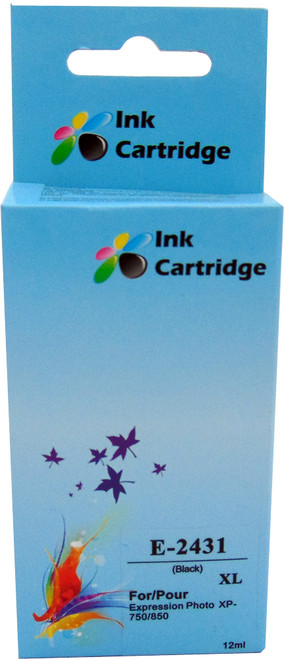 Compatible Epson 24XL (T2431) Black Inkjet Cartridge