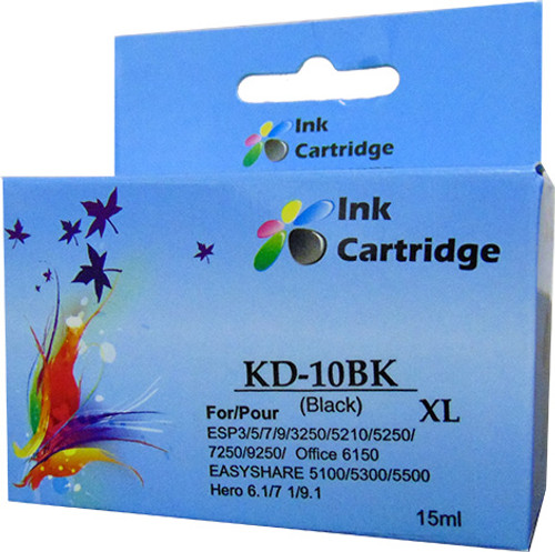 Compatible Kodak 10XL Black Inkjet Cartridge