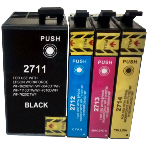 Compatible Epson 27XL (T2715) Multipack BCMY