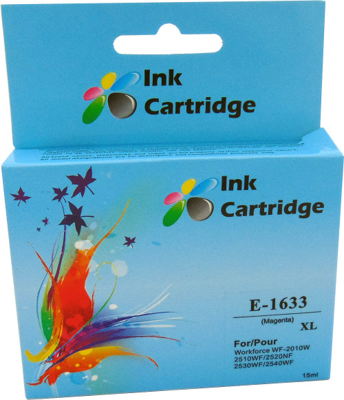 Compatible Epson 16XL (T1633) Magenta Inkjet Cartridge