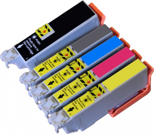 Compatible Epson 33XL High Yield Inkjet Cartridge Multipack T3357