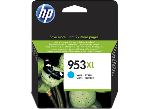 Genuine HP F6U16AE No 953XL Cyan Ink Cartridge