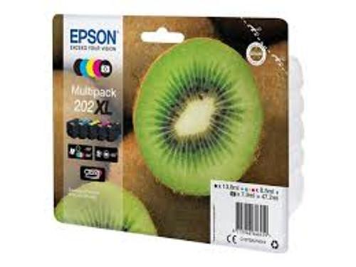 Genuine Epson 202xl Inkjet Cartridge Multipack (5)