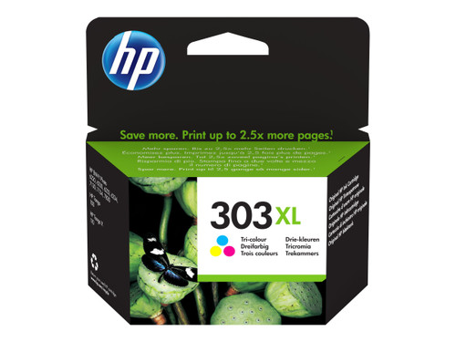 Genuine HP 303XL Colour Inkjet Cartridge