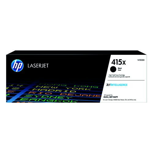 Genuine HP 415X Black Toner Cartridge