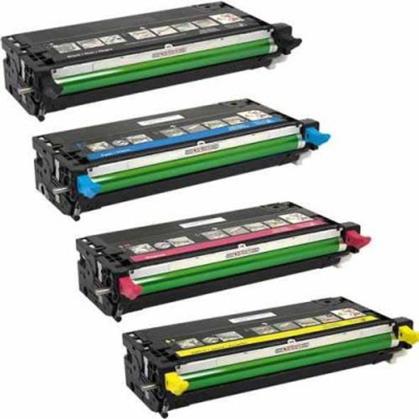 Compatible Dell 3110CN/3115CN High Yield Toner Value Pack
