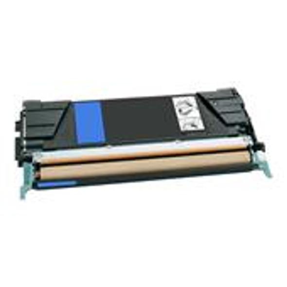 Compatible Lexmark C5222CS Cyan Toner Cartridge