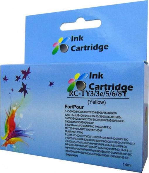 Compatible Canon BCI-6 Yellow Inkjet Cartridge