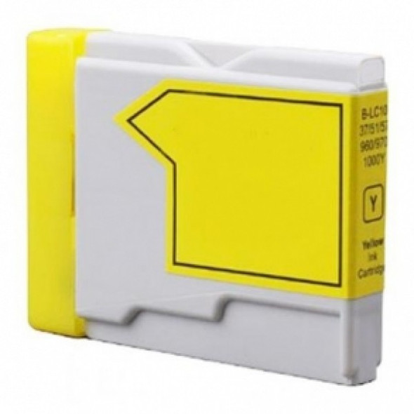 Compatible Brother LC970Y Yellow Inkjet Cartridge