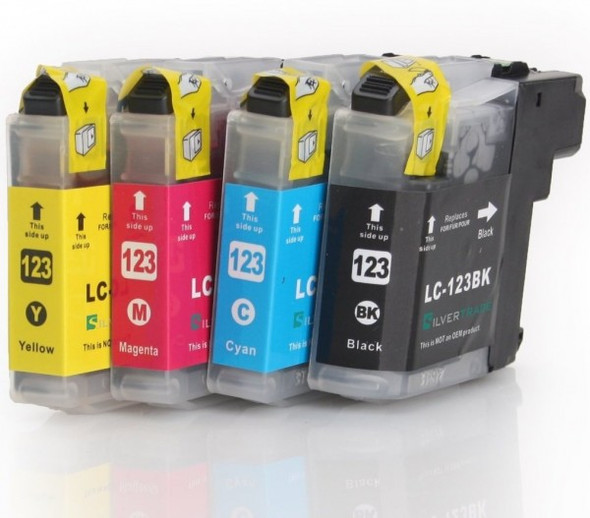 Compatible Brother LC123 Inkjet Cartridge Value Pack