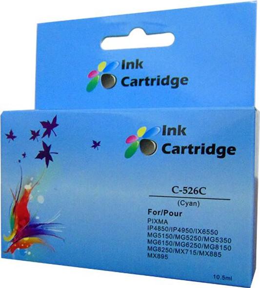 Compatible Canon CLI-526C Cyan Inkjet Cartridge