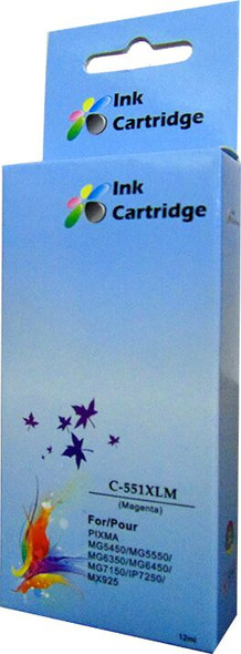 Compatible Canon CLI-551XL  Magenta Inkjet Cartridge