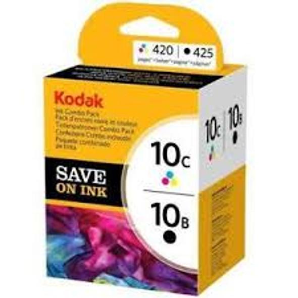 Genuine Kodak 10B/10C Black/Colour Combo Pack