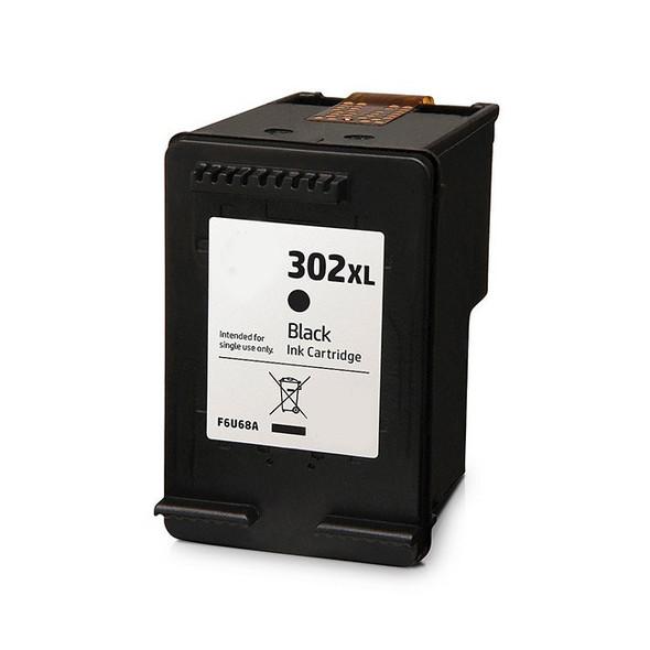 Compatible HP 302XL Black Ink Cartridge F6U68AE