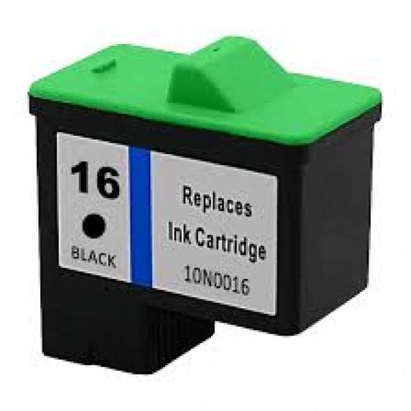 Compatible Lexmark 16 Black Inkjet Cartridge