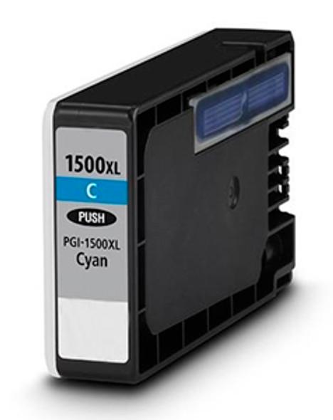 Compatible Canon PGI-1500XL Cyan Inkjet Cartridge