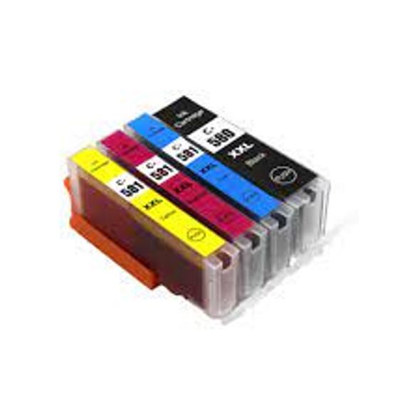 Compatible Canon PGI-580/CLI-581 XXL 4 Cartridge Multipack