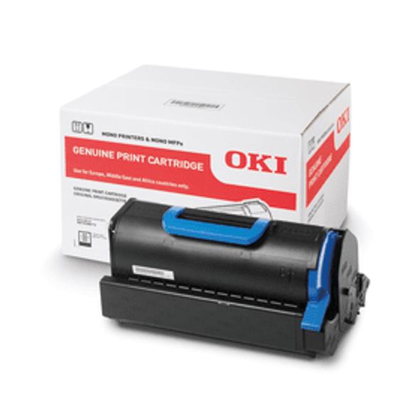 Genuine OKI 45488802 Black Toner Cartridge
