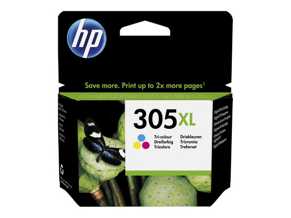 Genuine HP 305XL Colour Inkjet Cartridge 3YM63AE