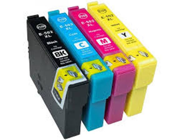 Compatible Epson 502XL Inkjet Cartridge Multipack