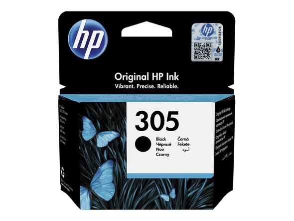 Genuine HP 305 Black Inkjet Cartridge 3YM61AE