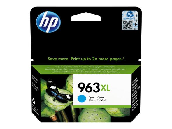 Genuine HP 3JA27AE NO 963XL Cyan Ink