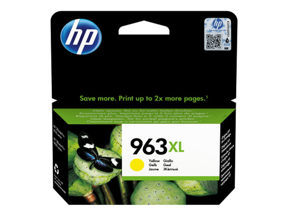 Genuine HP 3JA29AE NO 963XL Yellow Ink