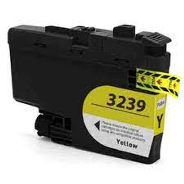 Compatible Brother LC3239 Yellow Inkjet Cartridge