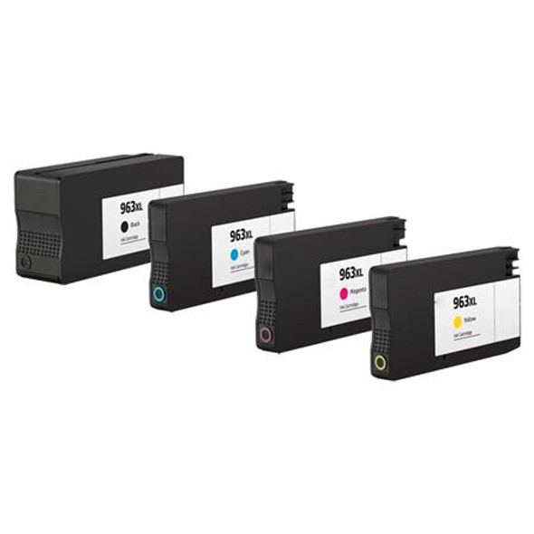 Compatible HP 963XL High Capacity Ink Cartridges Multipack (Replaces HP 3YP35AE)