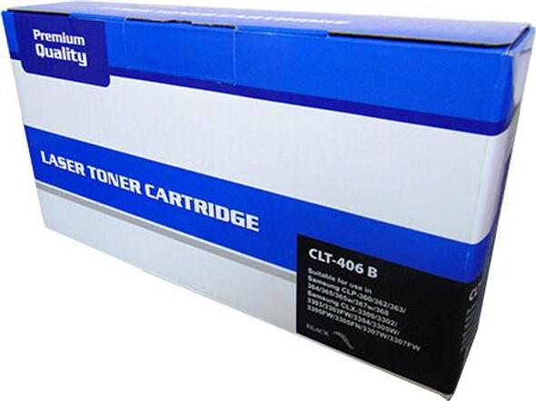 Compatible Samsung CLT-K406S Black Toner Cartridge