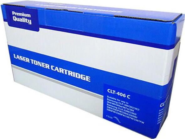 Compatible Samsung CLT-C406S Cyan Toner Cartridge