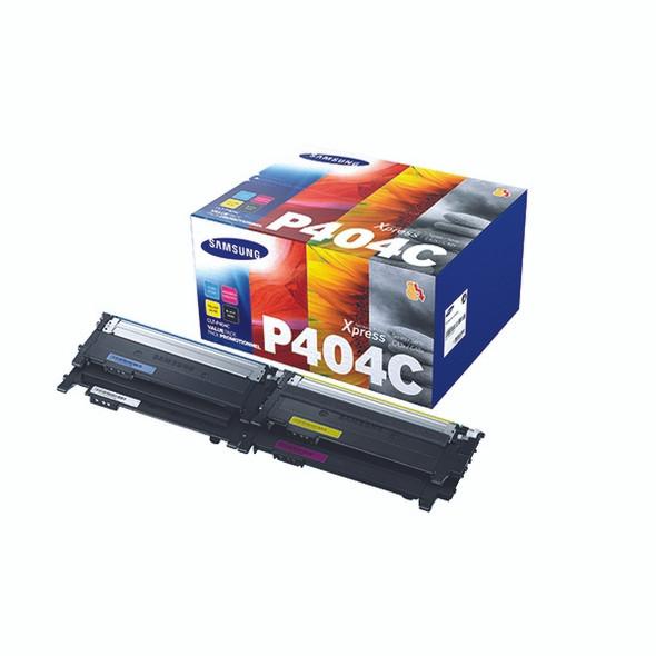 Genuine Samsung P404C Toner Cartridge Multipack CLT-P404C/ELS
