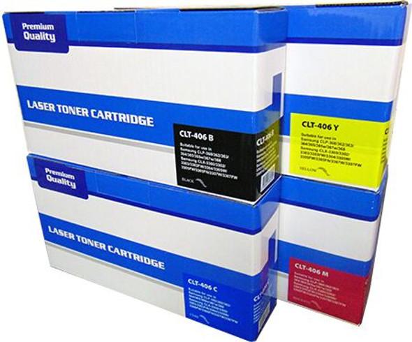 Compatible Samsung P404C Toner Cartridge Multipack CLT-P404C/ELS