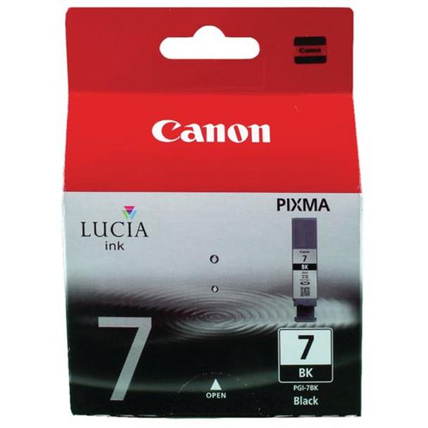 Genuine Canon PGI-7BK Black Inkjet Cartridge 2444B001