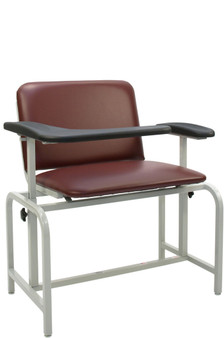 Winco 2575 Extra Large Padded Blood Drawing Chair